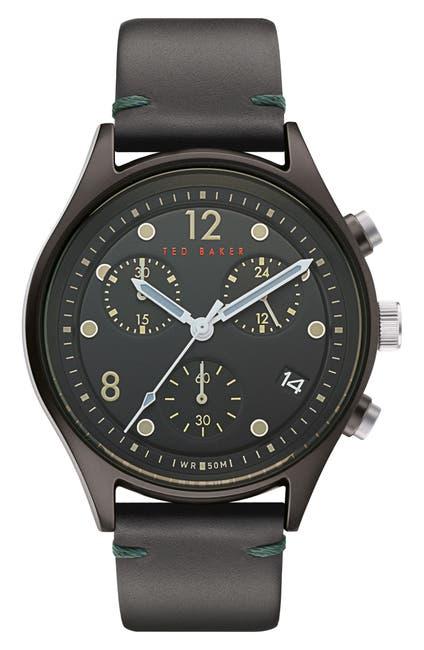 Image of Ted Baker London Men's Beleeni Chrono Strap Watch, 42mm
