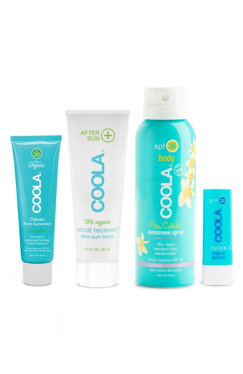 COOLA<SUP>®</SUP> Suncare Signature Travel Kit, Main, color, 000