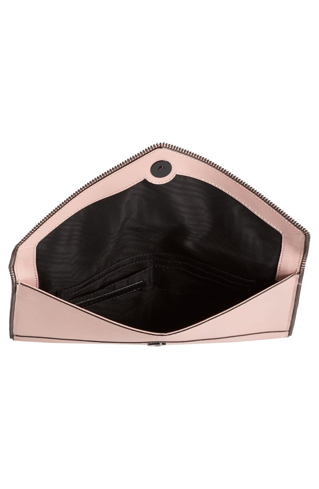 ,                             Leo Envelope Clutch,                             Alternate thumbnail 140, color,                             252