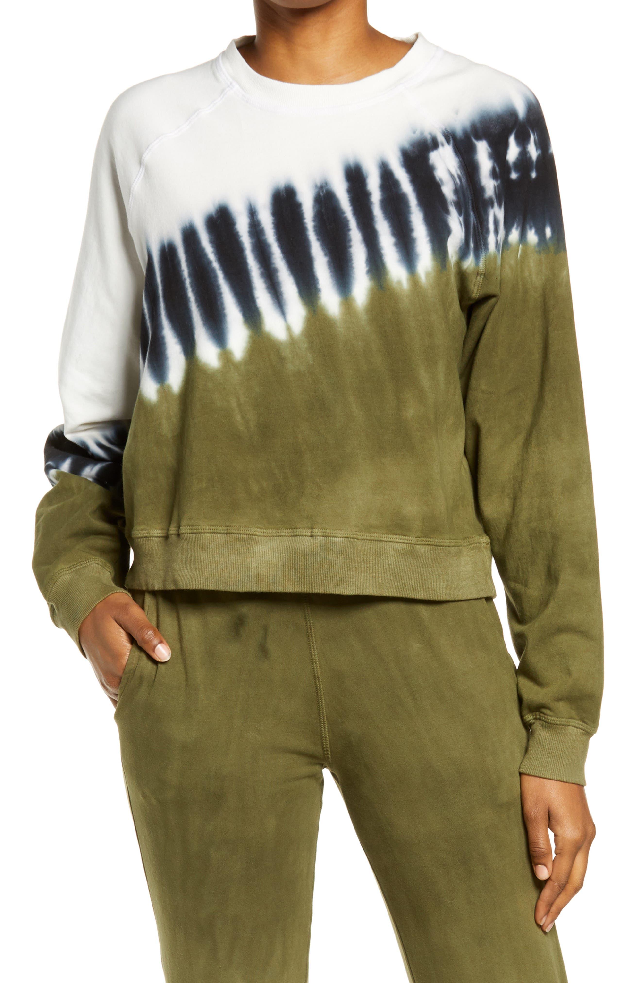 Ronan Crest Tie Dye Pullover