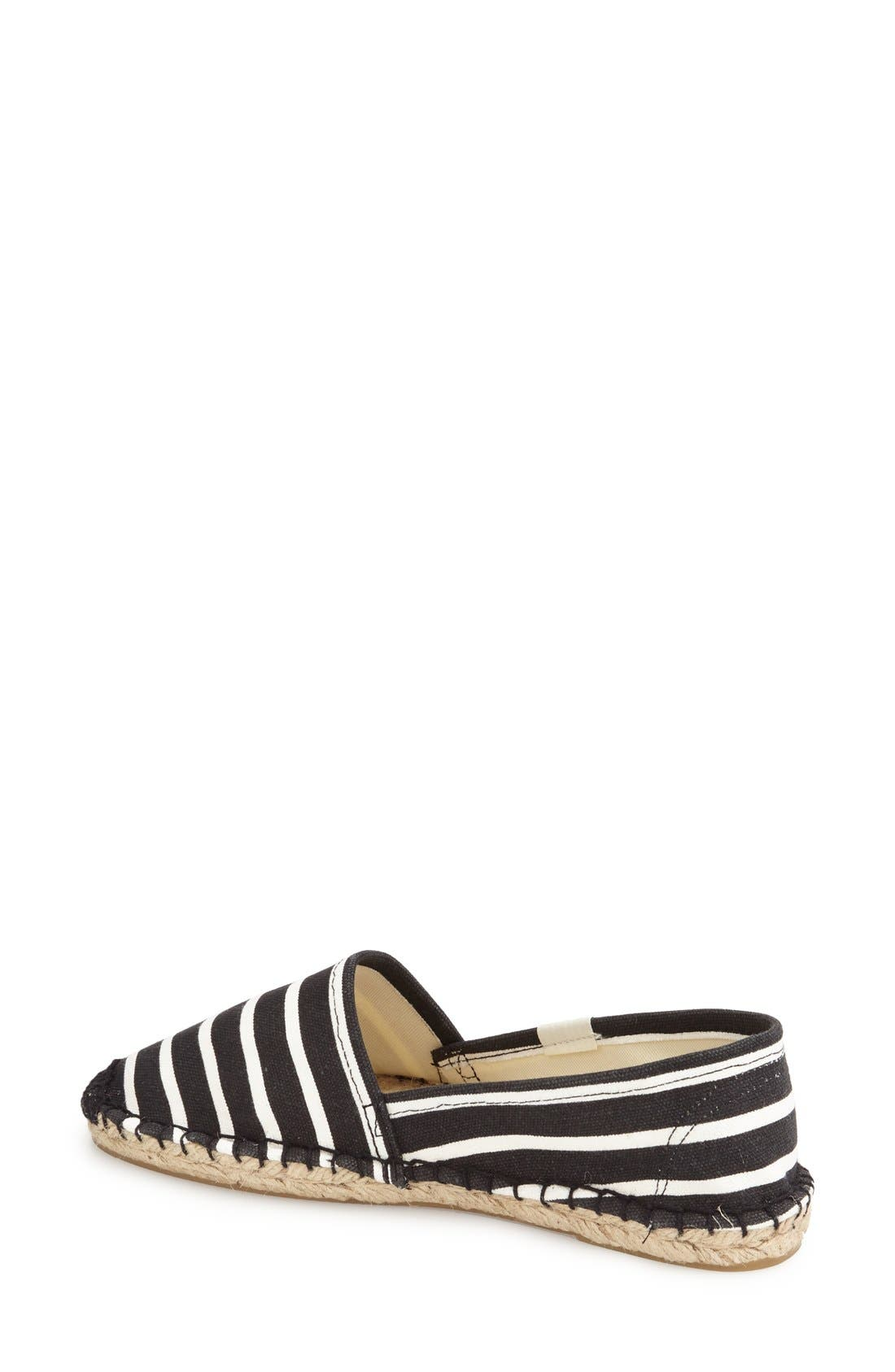 ,                             'Classic Stripe' Espadrille Slip-On,                             Alternate thumbnail 3, color,                             003