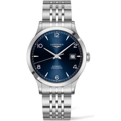 Longines Record Automatic Bracelet Watch, 40Mm