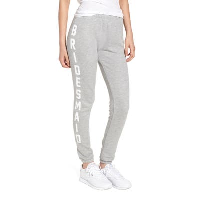 Wildfox Bridesmaid Knox Sweatpants, Grey