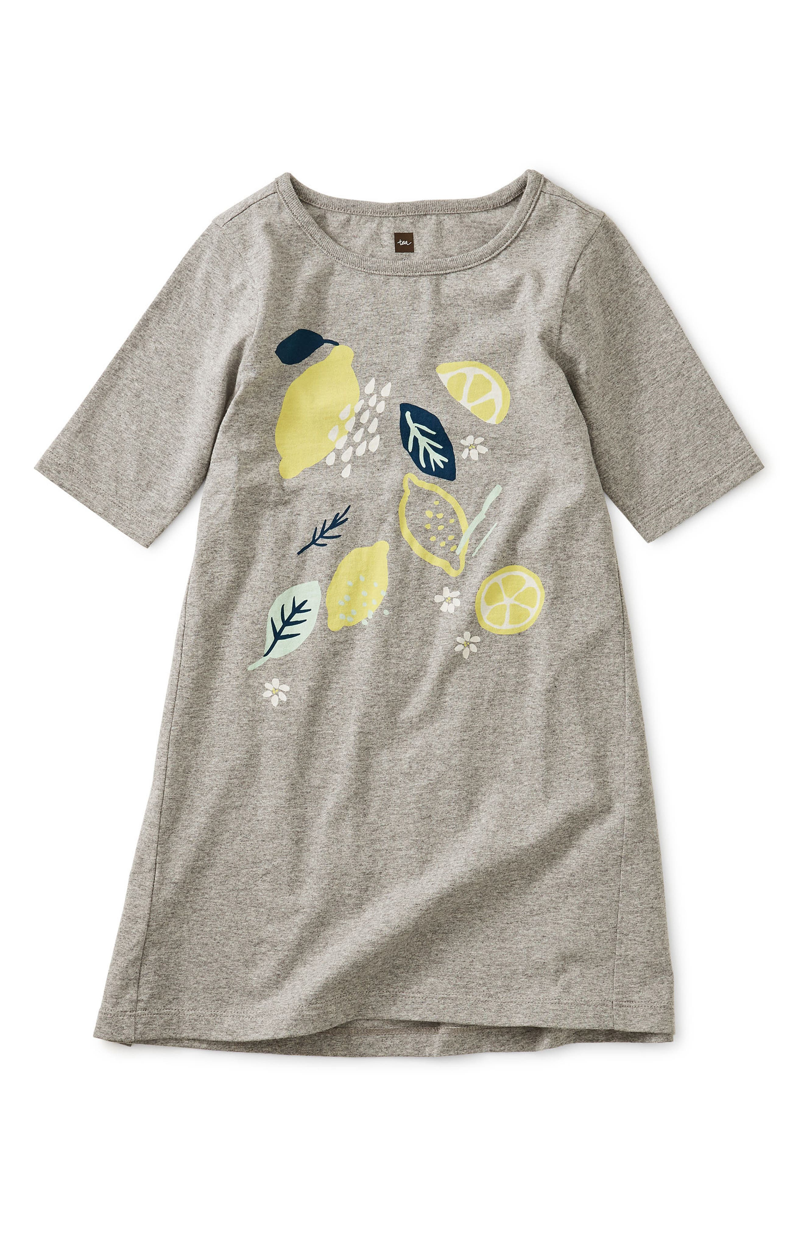Image of Tea Collection Lemon Graphic Dress