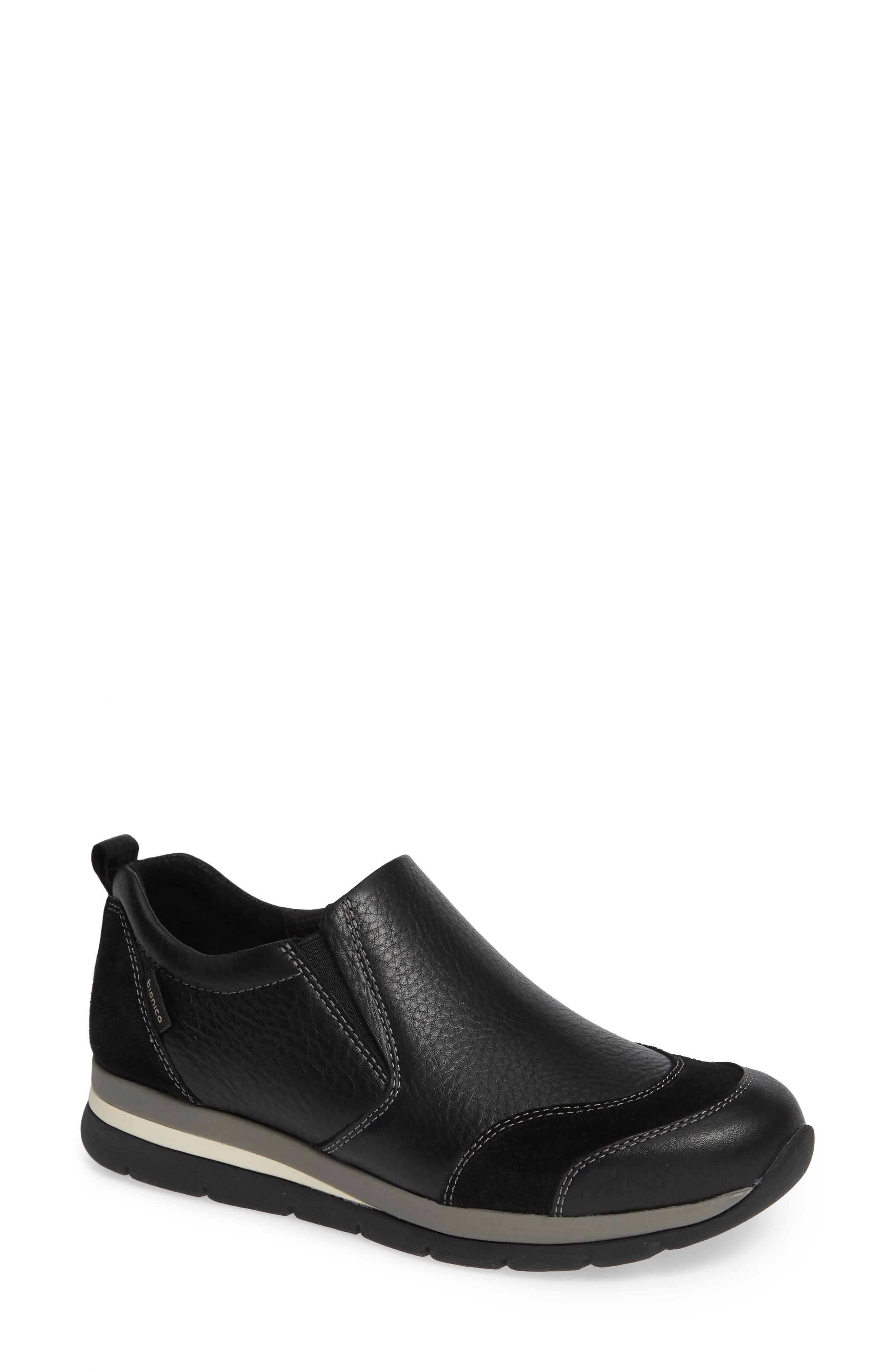 Bionica Talma Waterproof Slip-On Sneaker, Black