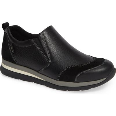 Bionica Talma Waterproof Slip-On Sneaker- Black