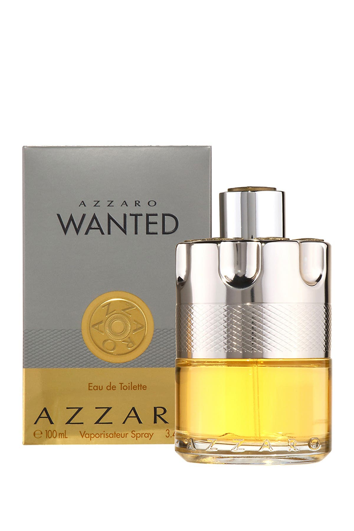 Image of Azzaro Wanted Eau de Toilette Spray - 3.4 fl. oz.