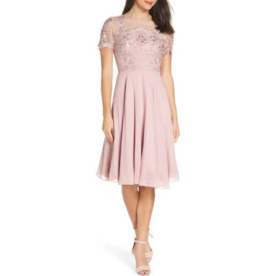 Chi Chi London Embroidered Bodice Party Dress