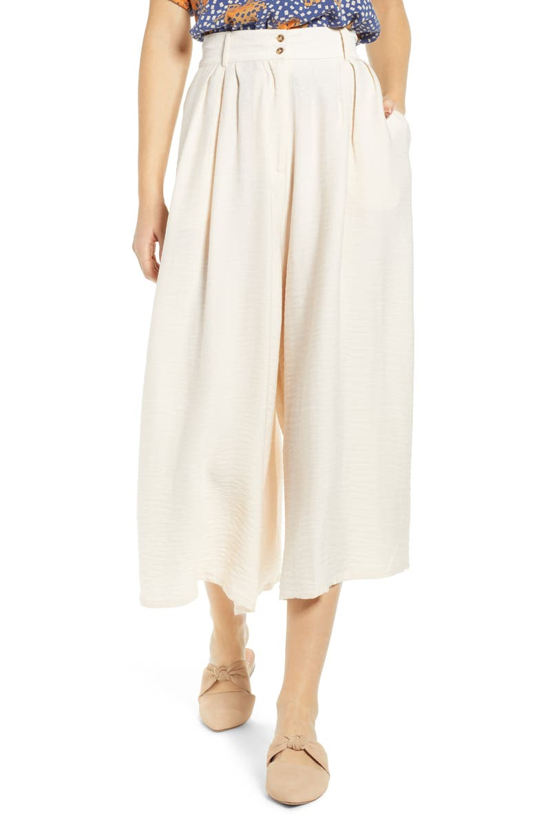 THE ODELLS Trousers, Main, color, BLANCA