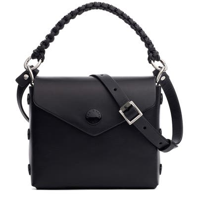 Rag & Bone Micro Atlas Leather Crossbody Bag - Black