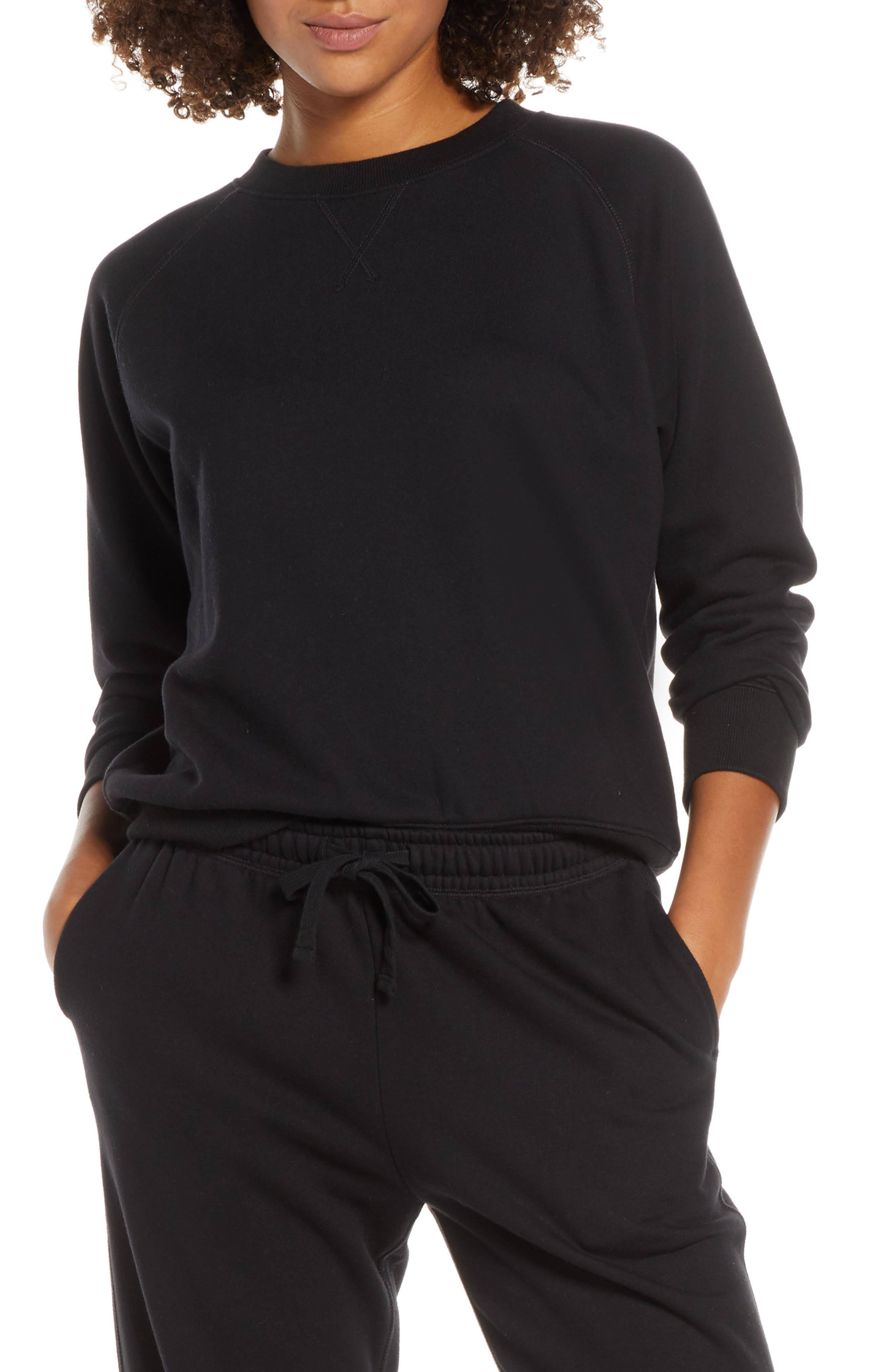 Richer Poorer Sweatshirt, Black