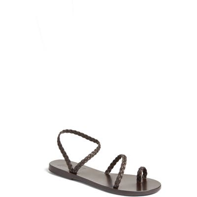 Ancient Greek Sandals Eleftheria Sandal, Black