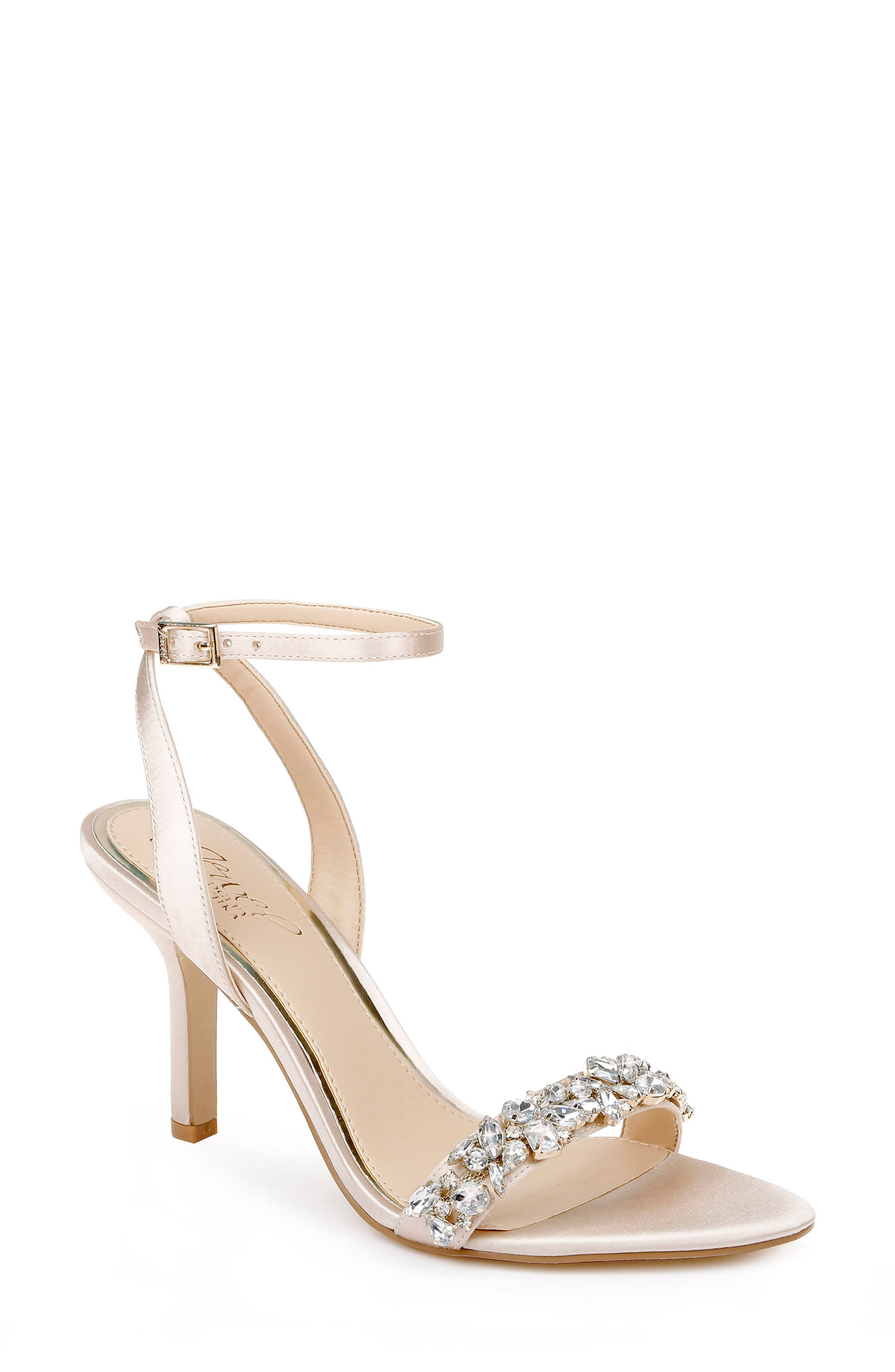 Ojai Crystal Ankle Strap Sandal