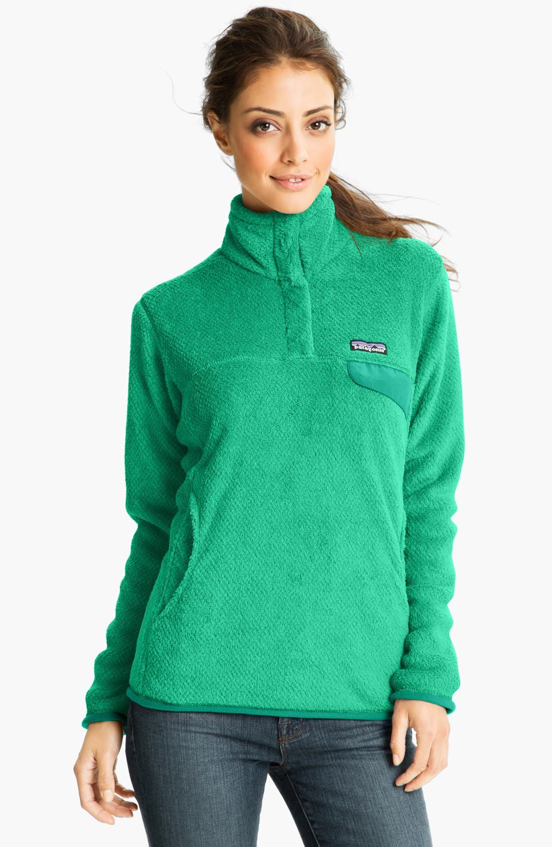,                             Re-Tool Snap-T<sup>®</sup> Fleece Pullover,                             Main thumbnail 110, color,                             301