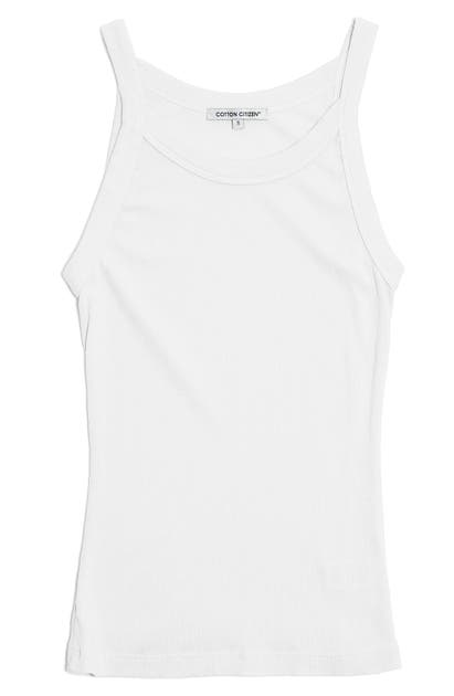 Cotton Citizen VERONA RIBBED TANK