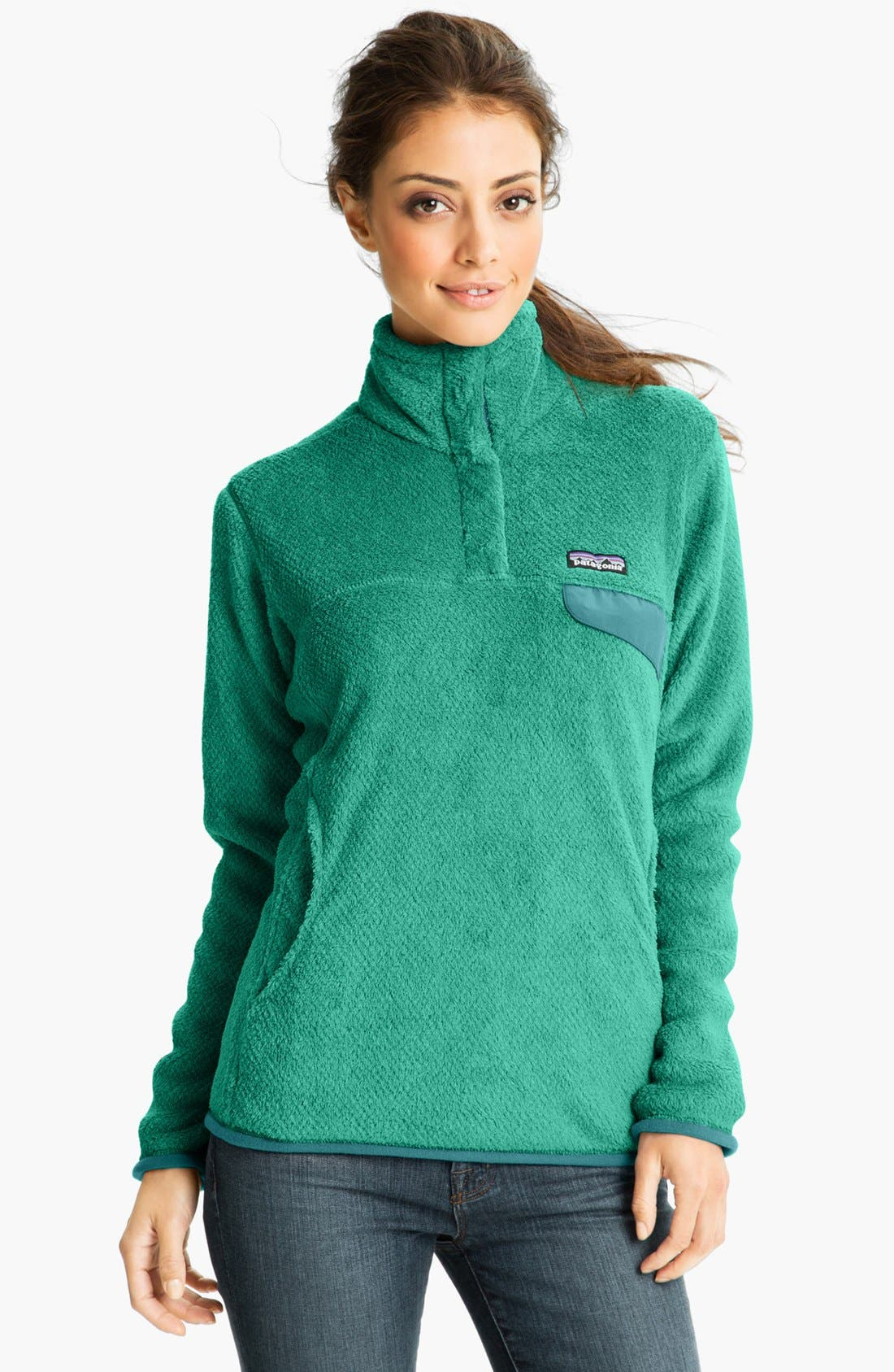 ,                             Re-Tool Snap-T<sup>®</sup> Fleece Pullover,                             Main thumbnail 155, color,                             440