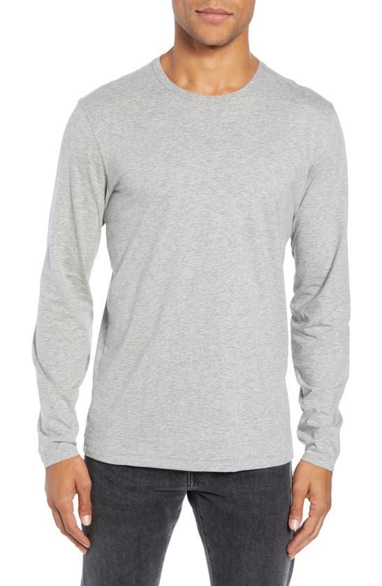 Rag & Bone Classic Base Slim Fit T-shirt In Grey Heather