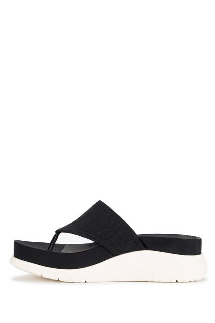 Image of BareTraps Sariah Posture Plus Wedge Thong Sandal