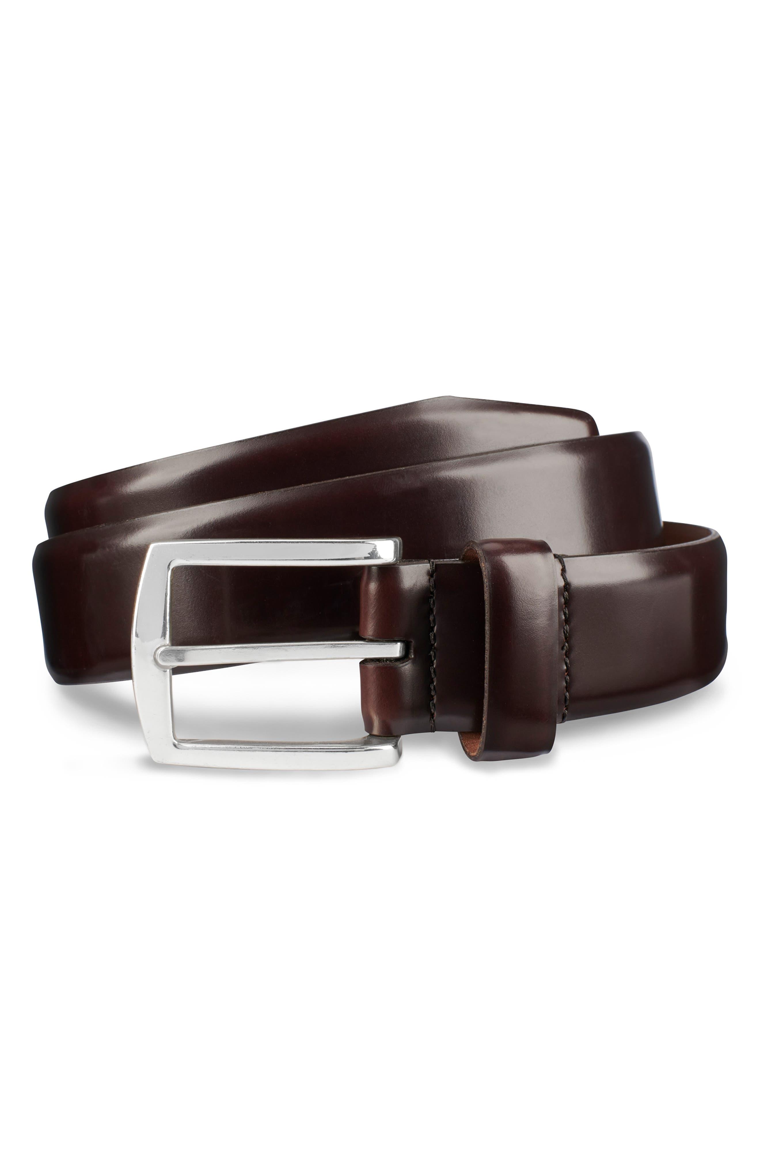 Midland Ave. Leather Belt