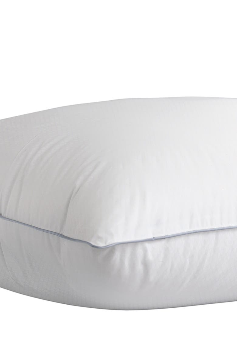 CLIMAREST 233 Thread Count Pillow, Main, color, WHITE
