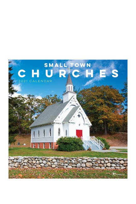Image of TF Publishing 2021 Churches Wall Calendar