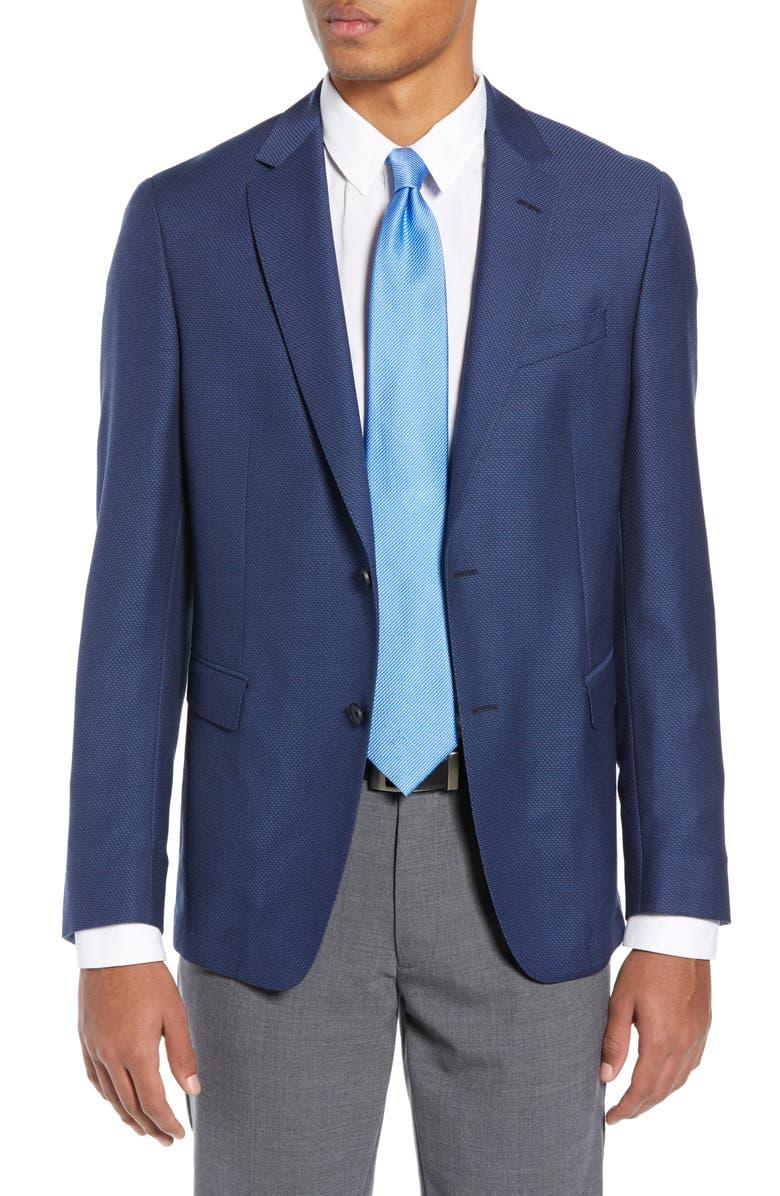BOSS Nobis Slim Fit Wool Blazer, Main, color, 465