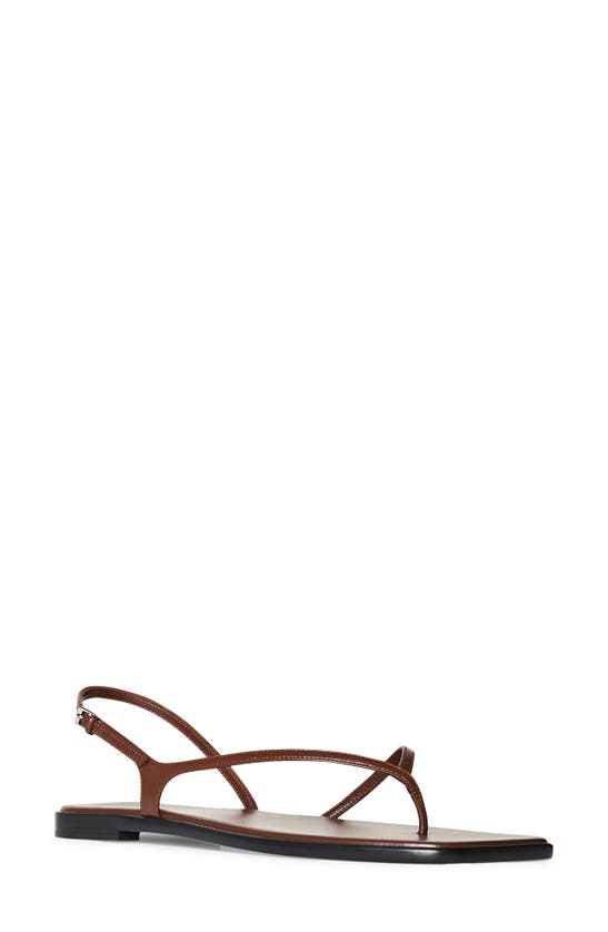The Row Leathers CONSTANCE FLAT SANDAL
