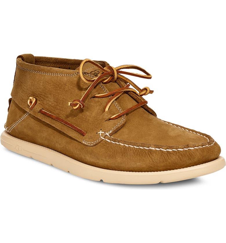 UGG<SUP>®</SUP> Beach Moc Chukka Boot, Main, color, CARAMEL