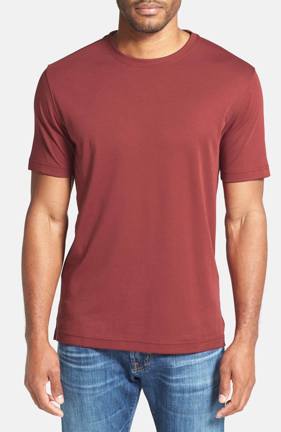 ,                             Georgia Crewneck T-Shirt,                             Main thumbnail 448, color,                             622