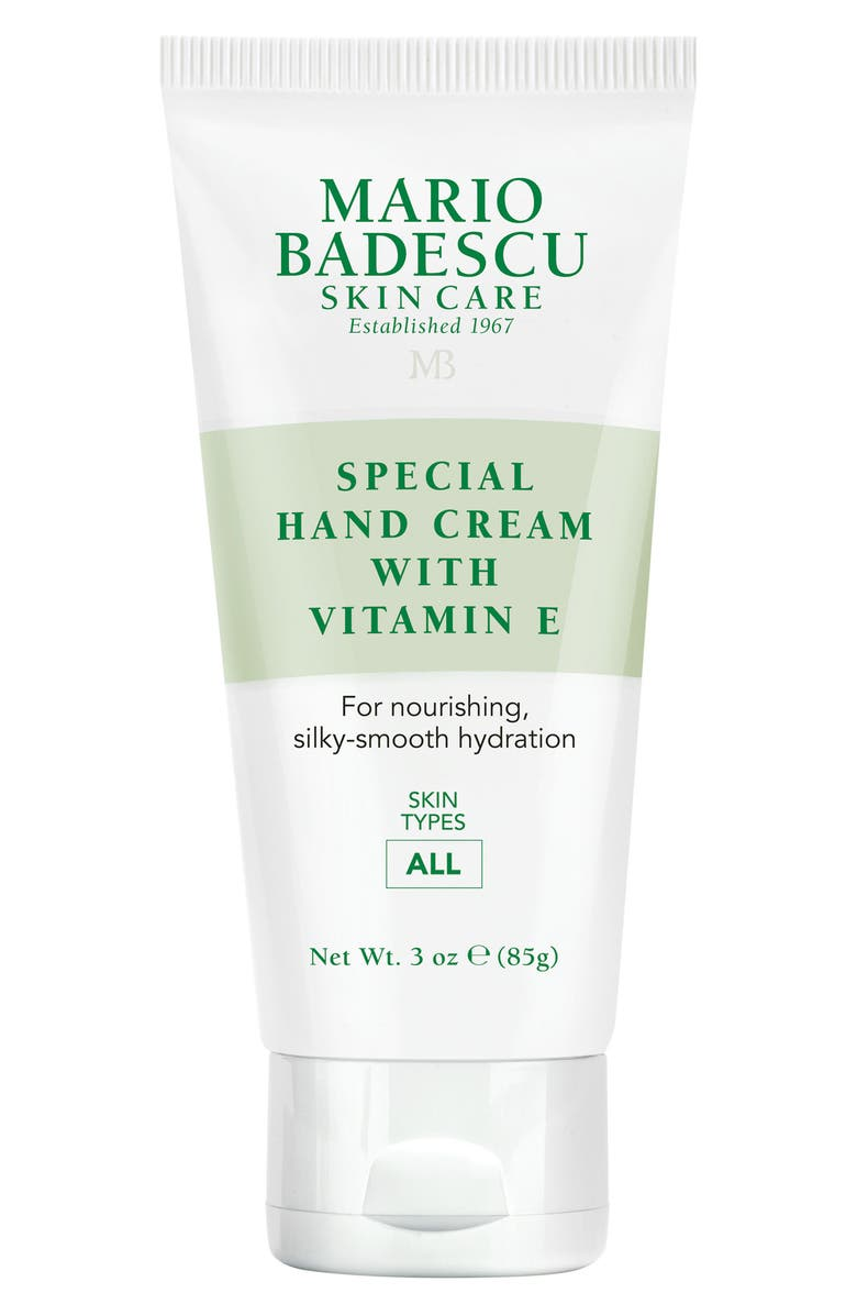 MARIO BADESCU Special Hand Cream with Vitamin E, Main, color, NO COLOR