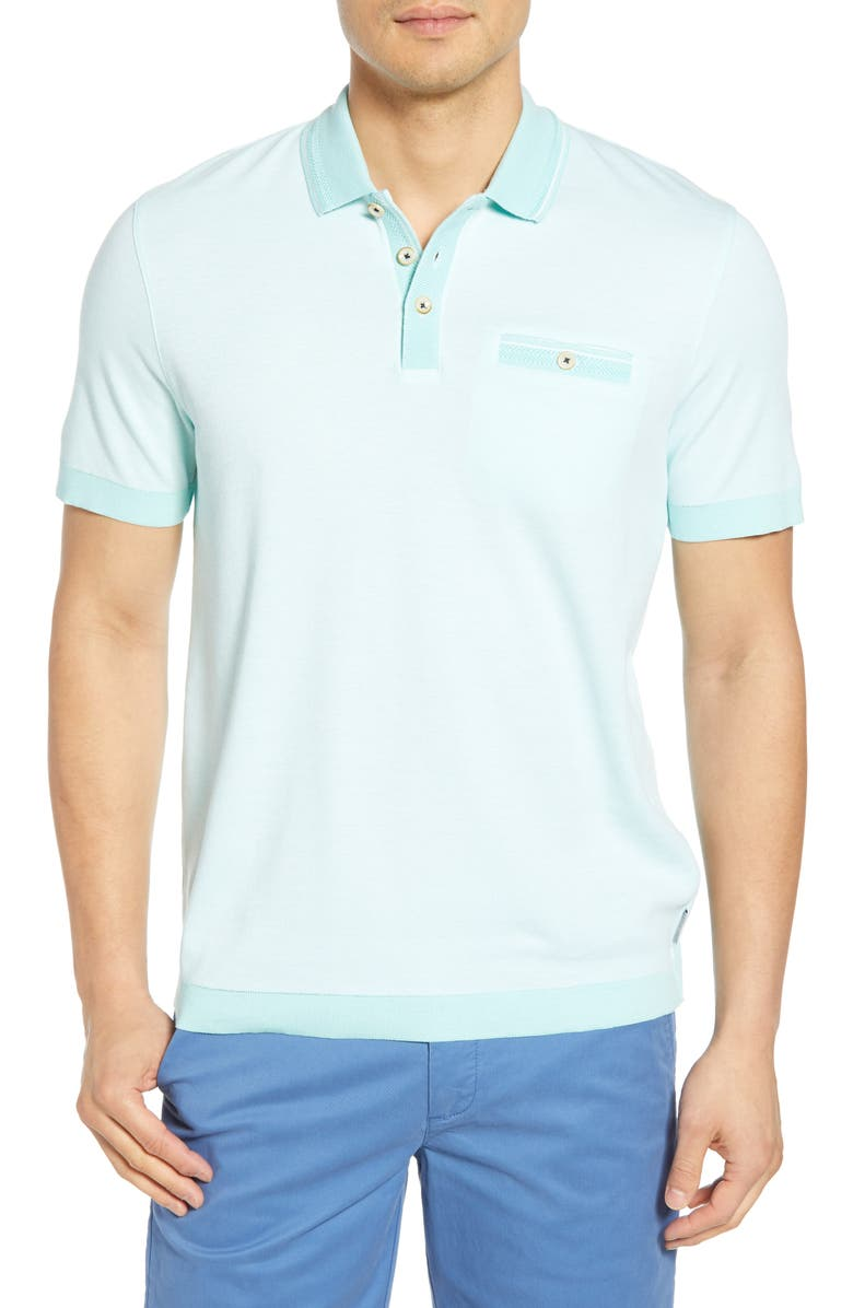 TED BAKER LONDON Troop Slim Fit Polo, Main, color, 331
