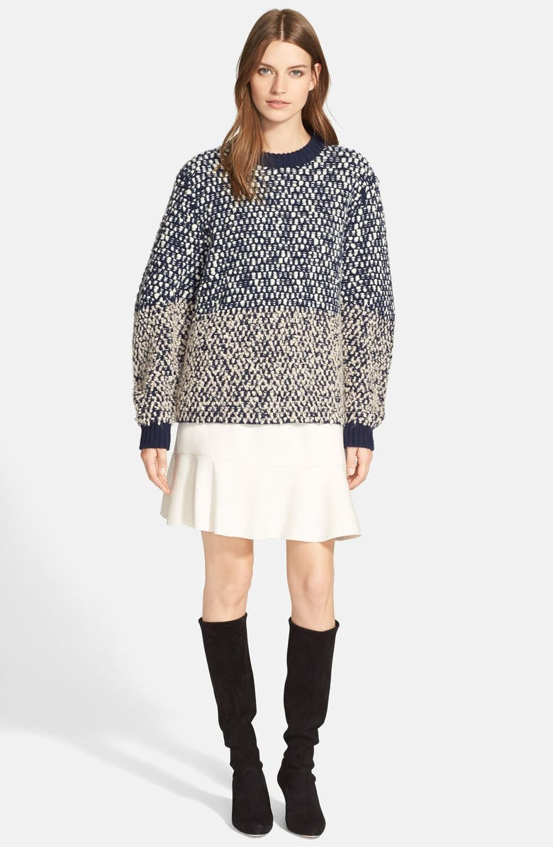 SEE BY CHLOÉ Bobble Knit Sweater, Main, color, 410