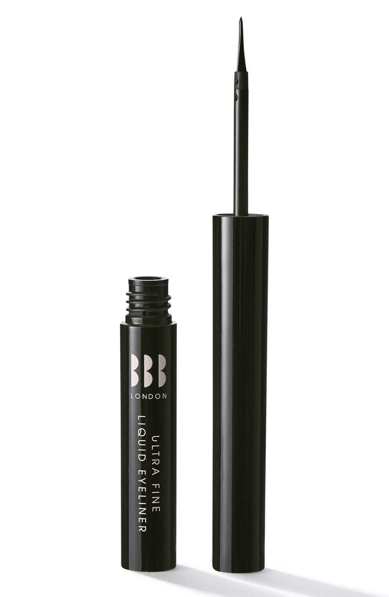 BBB LONDON Ultra Fine Liquid Eyeliner, Main, color, BLACK