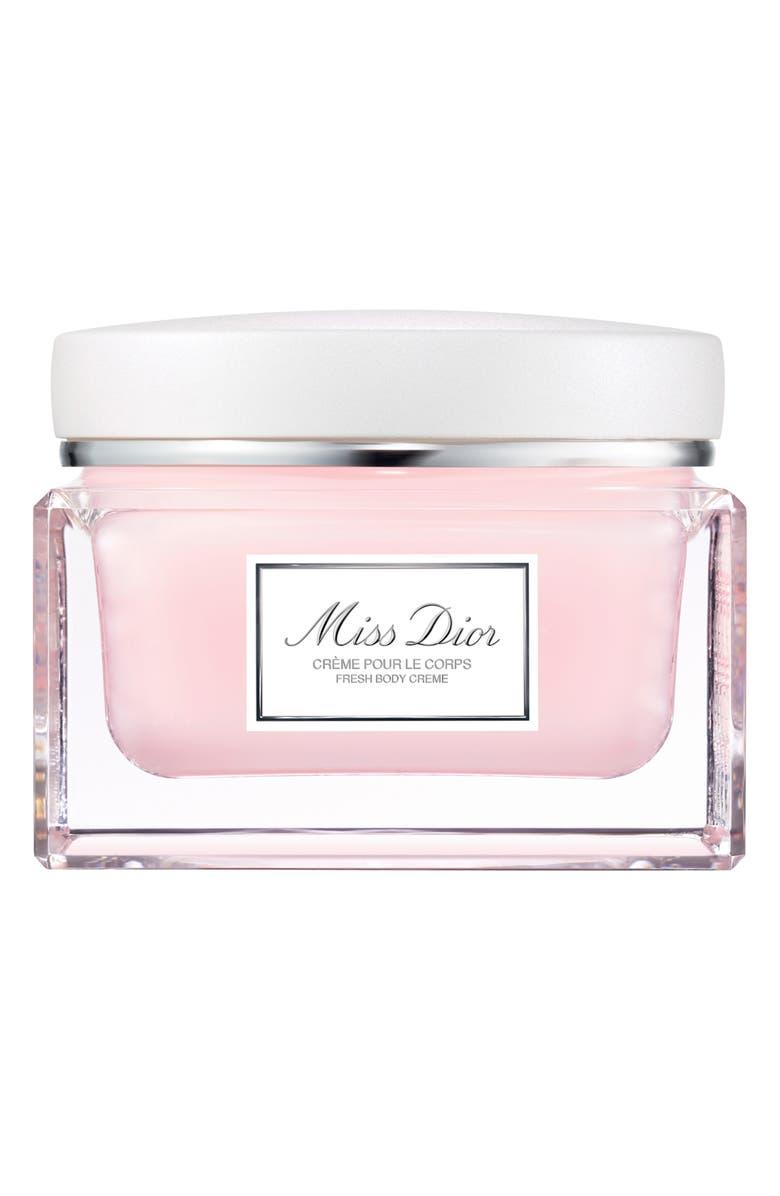 DIOR Miss Dior Fresh Body Creme, Main, color, NO COLOR