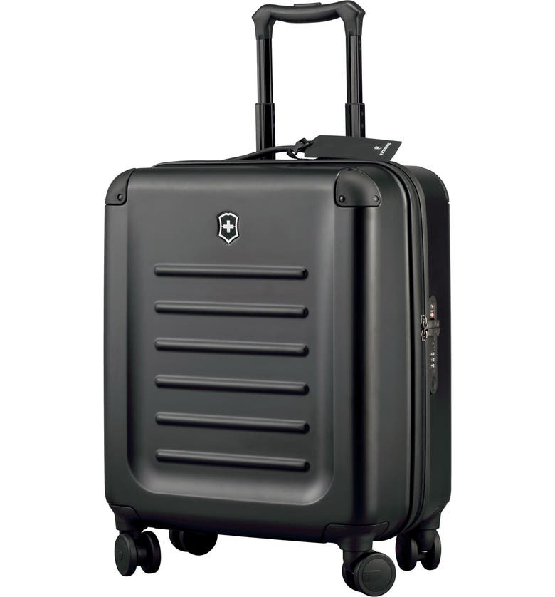 VICTORINOX SWISS ARMY<SUP>®</SUP> Spectra 2.0 Extra Capacity Hard Sided Rolling 22-Inch Carry-On, Main, color, 001