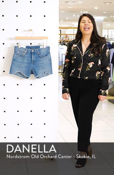 Dre Distressed Denim Shorts, sales video thumbnail