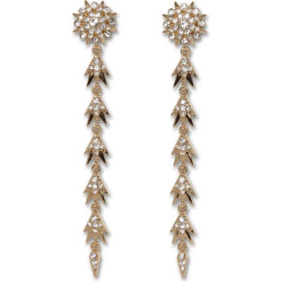 Vince Camuto Starburst Linear Earrings
