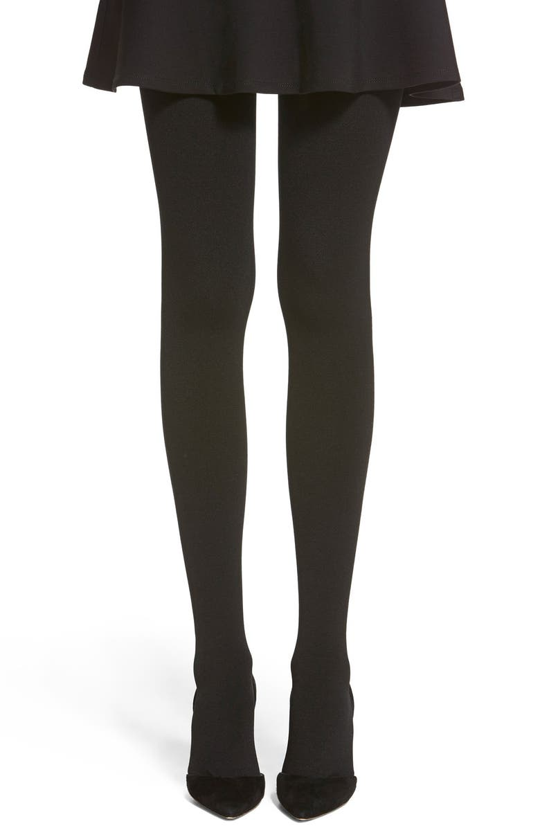 HUE Brushed Sweater Tights, Main, color, 001