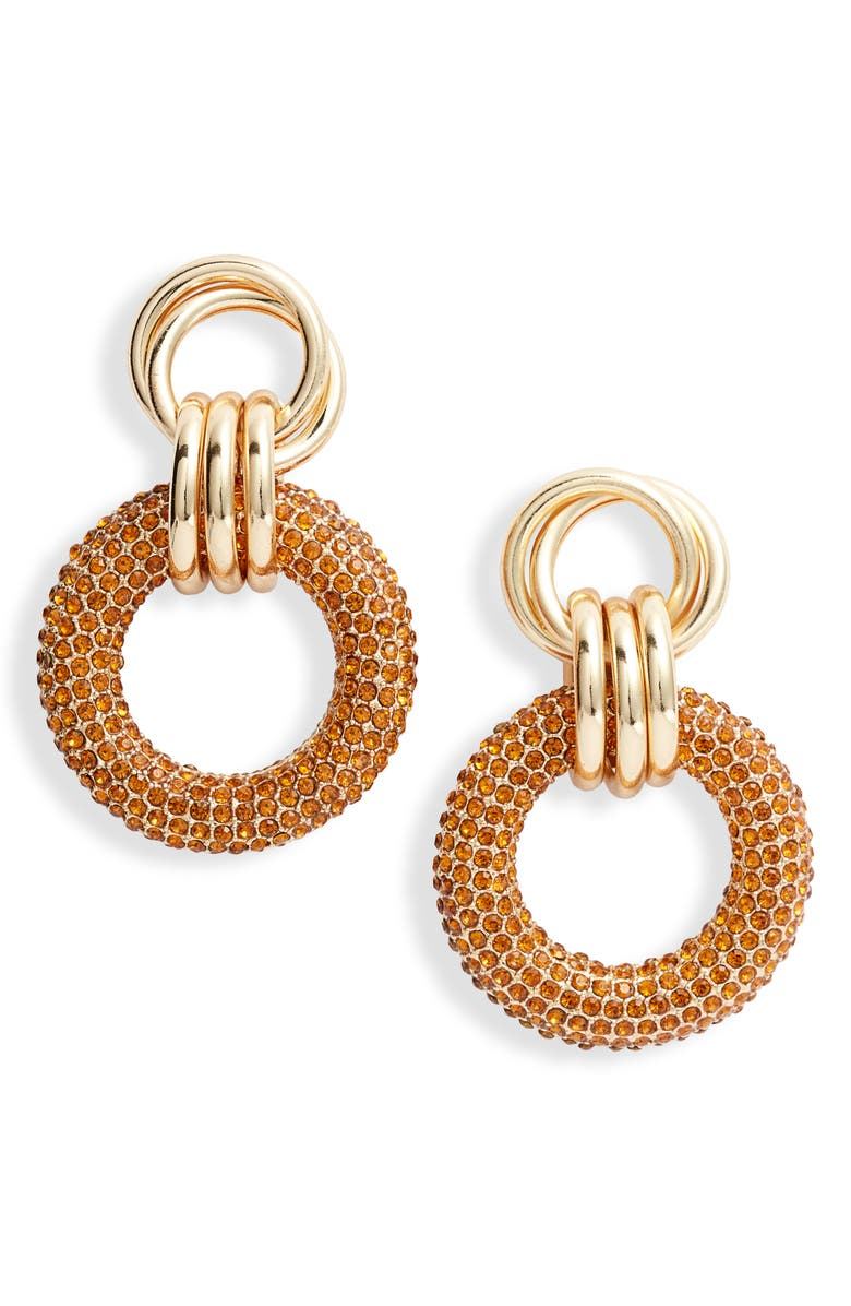 8 OTHER REASONS x Jill Jacobs Drop Earrings, Main, color, 710