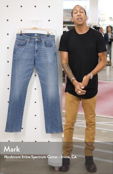 The Straight Slim Straight Leg Jeans, sales video thumbnail