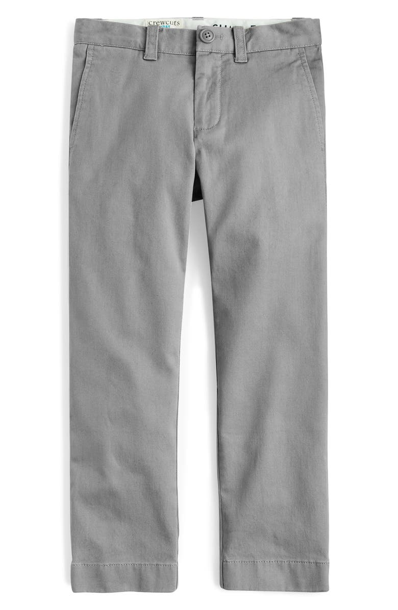 CREWCUTS BY J.CREW Stretch Chino Pants, Main, color, 020