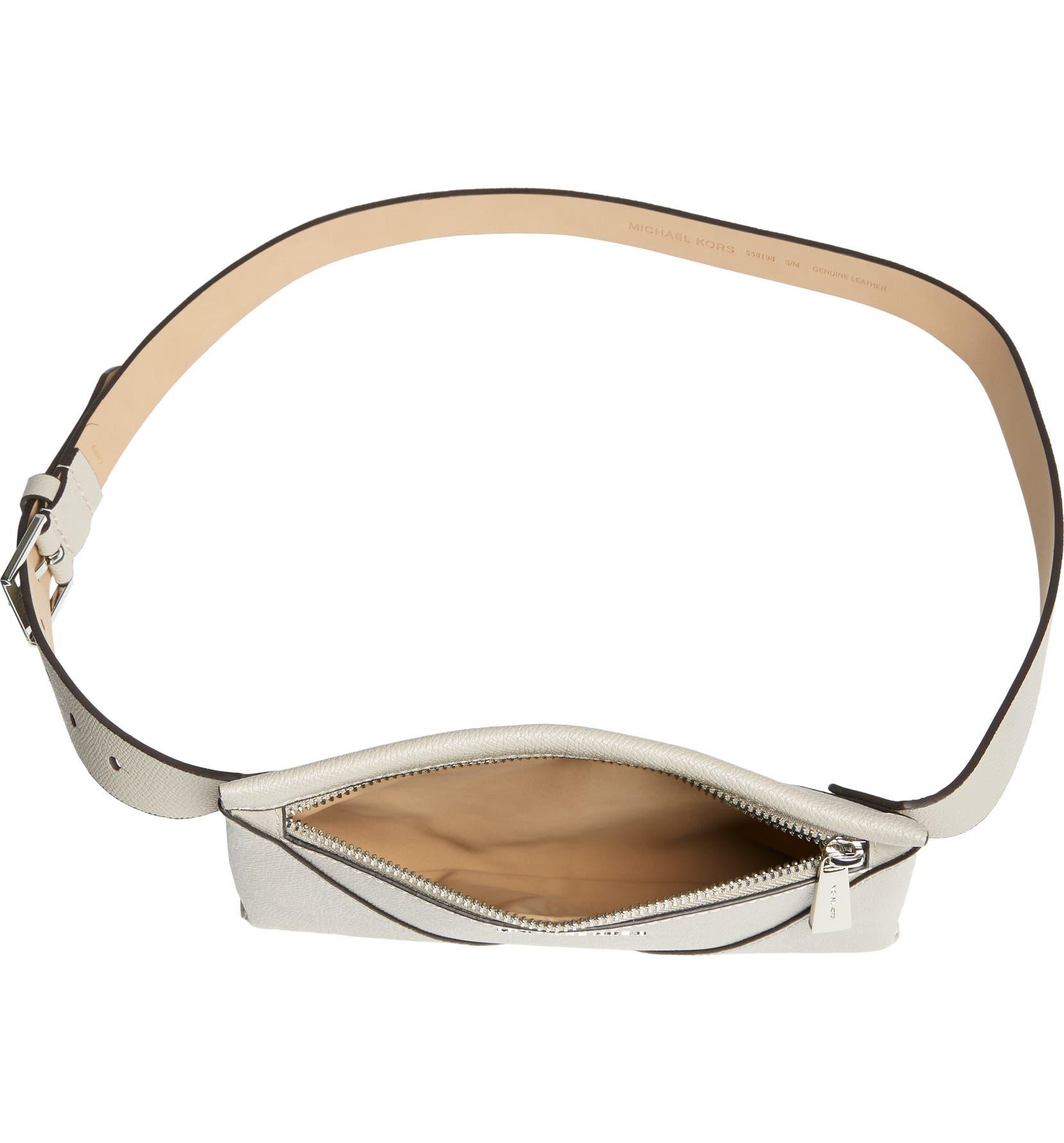 Michael Kors Saffiano Leather Belt Bag | Nordstrom