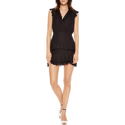 Parker Tangia Silk Dress, Black