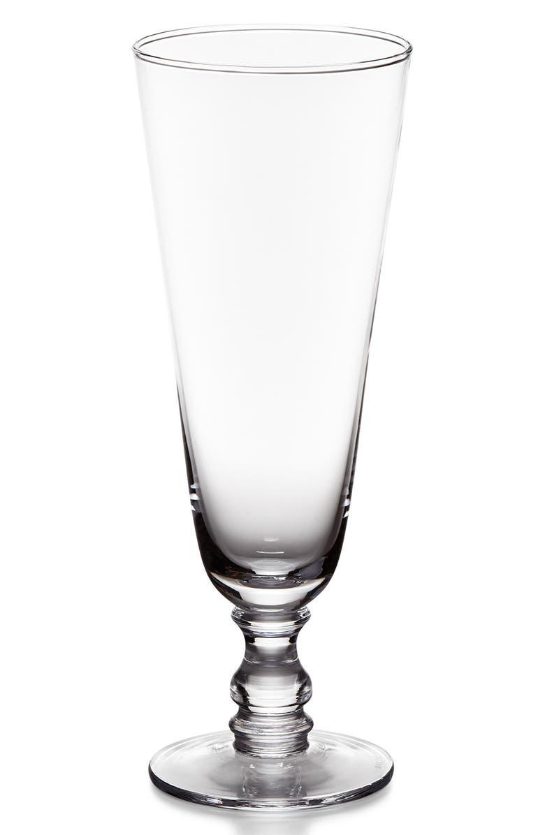 RALPH LAUREN Ethan Tall Cocktail Glass, Main, color, CLEAR