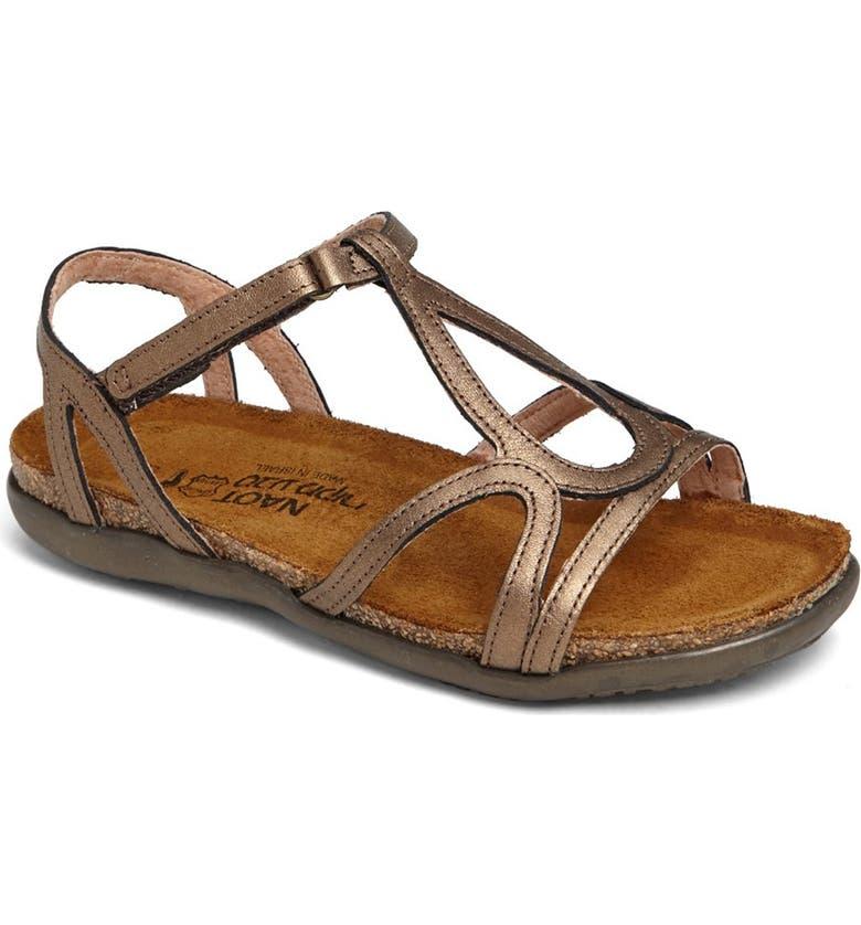 NAOT 'Dorith' Sandal, Main, color, GRECIAN GOLD