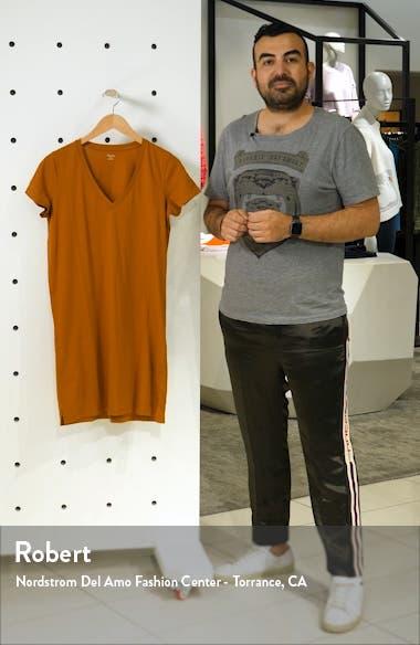 Northside V-Neck T-Shirt Dress, sales video thumbnail