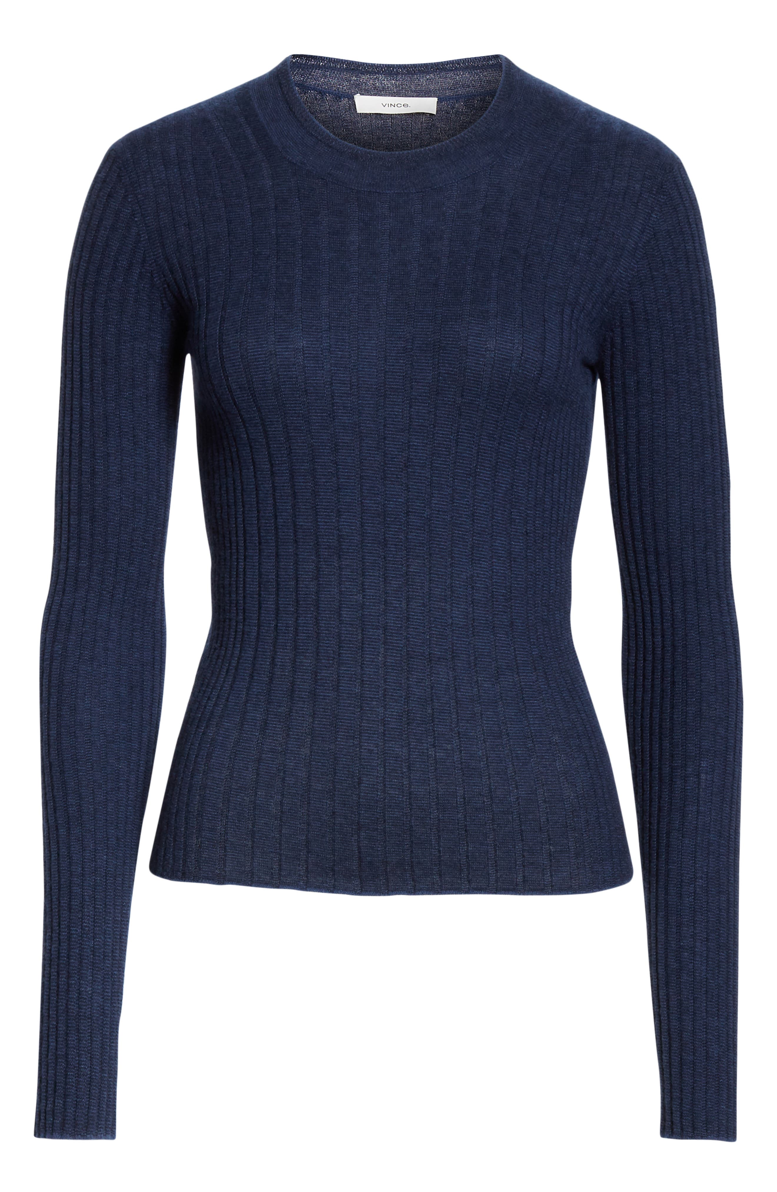,                             Mixed Rib Stitch Sweater,                             Alternate thumbnail 13, color,                             400