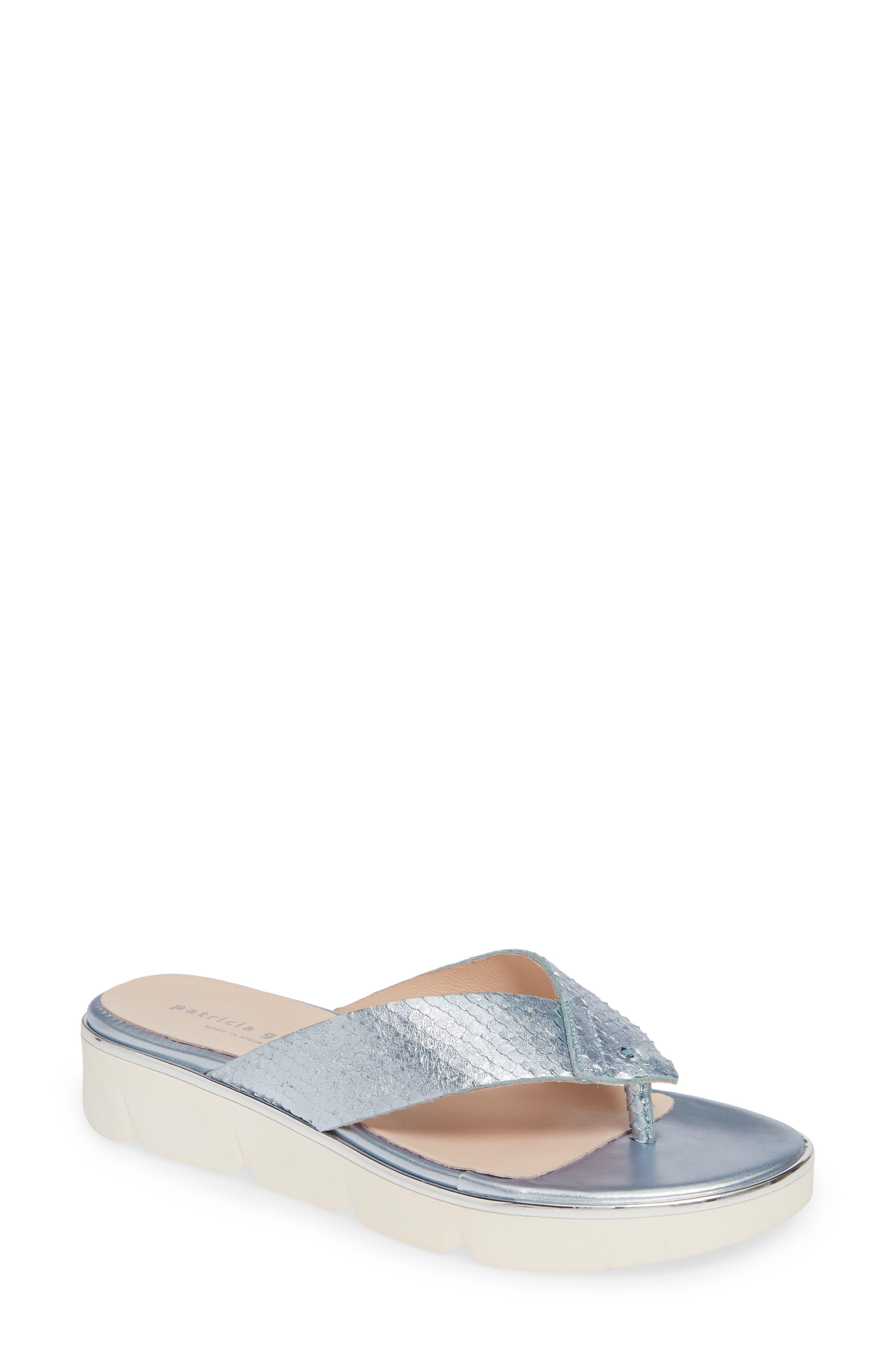 Patricia Green Casablanca Flip Flop, Blue