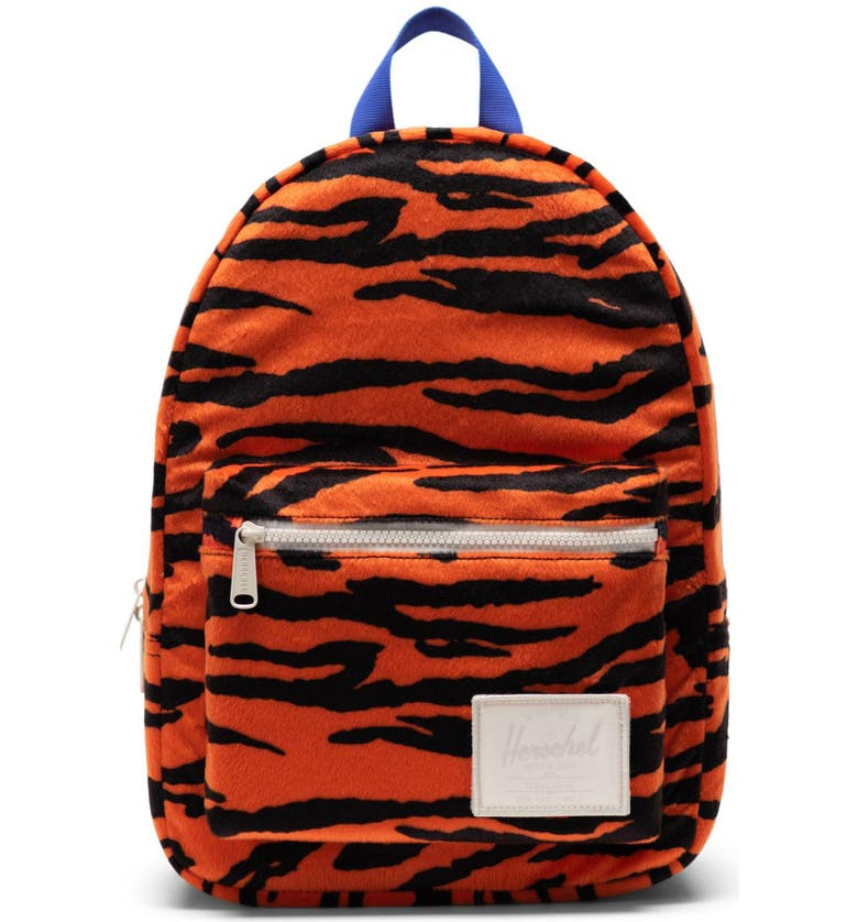 HERSCHEL SUPPLY CO. Small Grove Backpack, Main, color, TIGER/ ROYAL BLUE