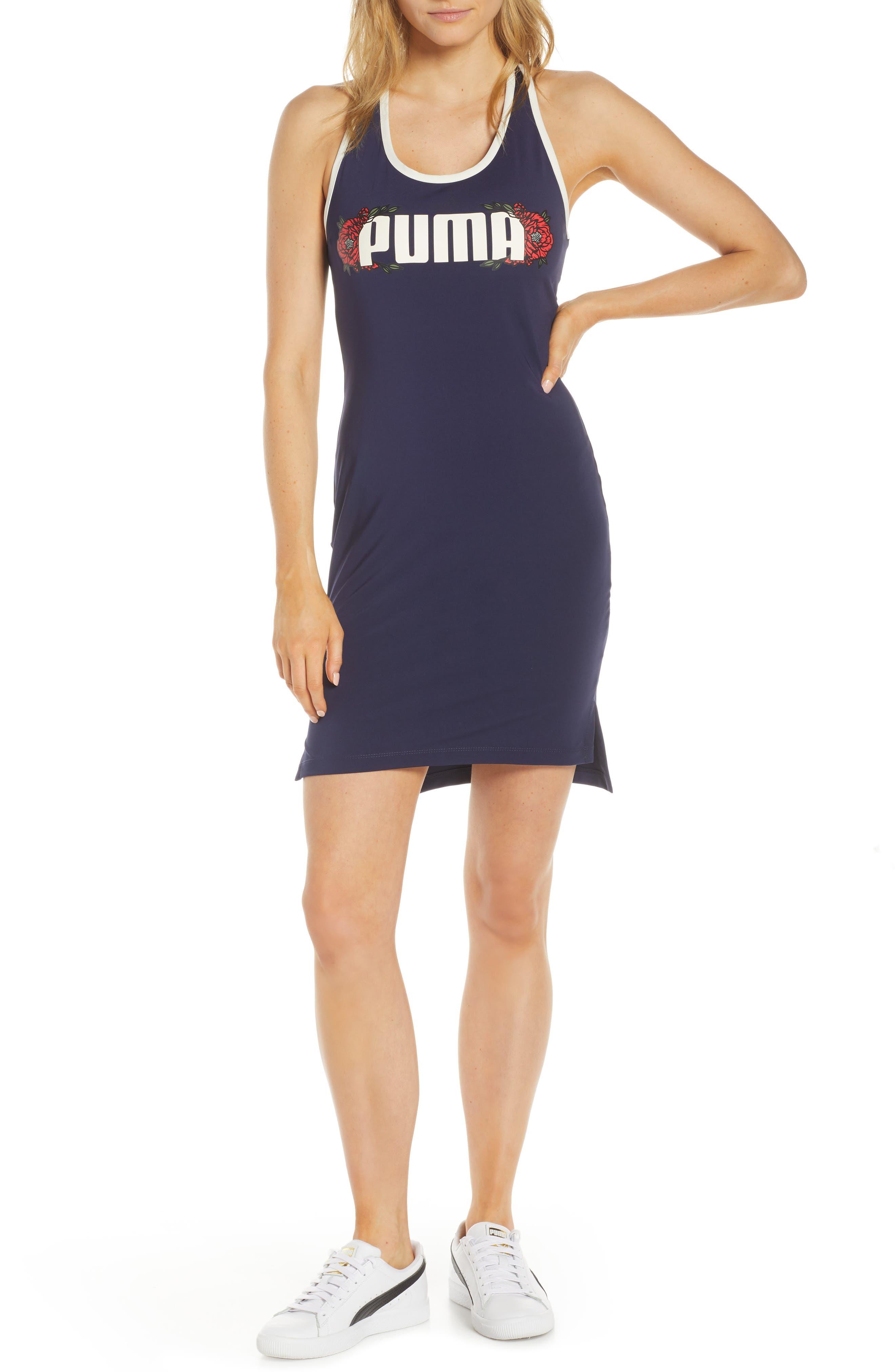 Puma Flourish Dress, Blue